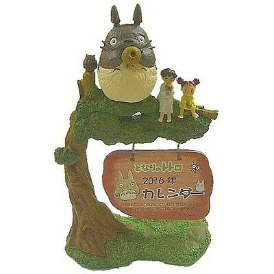 New! Studio Ghibli My Neighbor TOTORO 2016 Figure CALENDAR Ocarina Blows Night