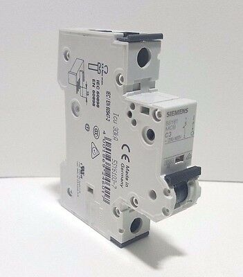*NEW*SIEMENS 5SY6103-7 3A,Siemens Circuit Breaker Supplementary Protector 3A