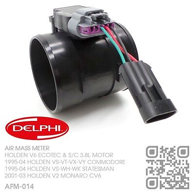 Delphi Air Mass/flow Meter V6 Supercharged L67 3.8L Holden Vs-Vt-Vx-Vy Commodore