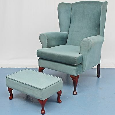 High Back Day Chair With Foot Stool