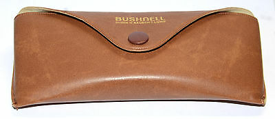 Vintage Bushnell Bausch And Lomb Leather Sunglasses Case Rare