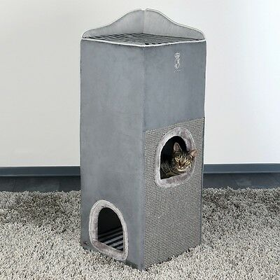 Maja von Hohenzollern by Trixie Cat Prince Cat Tower grau, UVP 169,00 EUR