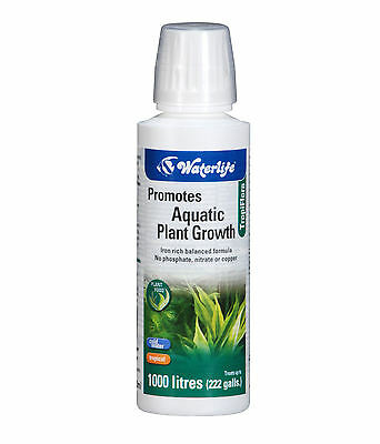 Waterlife Aquarium Tropiflora Plant Food 250ml Bottle For All Planted Aquariums