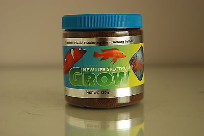 New Life Spectrum Grow Formula 1600 gram Tub 0.5m pellet size Bucket