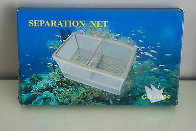 Large Fish Breeding Trap Net Suitable For All  Aquarium Fish 26 x 15 x 14 cms