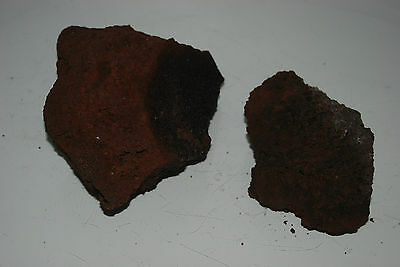 Natural Aquarium Red Lava Rock 2 Medium Pieces Suitable for All Aquariums BC