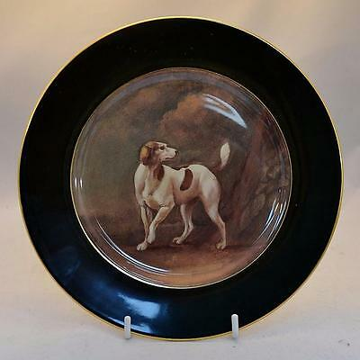Rare Ralph Lauren Beckley Hunt Plate With Painting of Hound