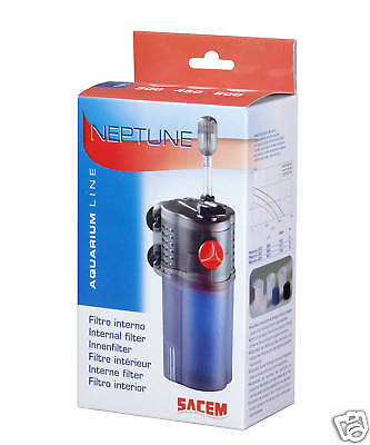 Aquarium Internal Filter Sacem Neptune 450 Litres Per Hour With Washable Filter