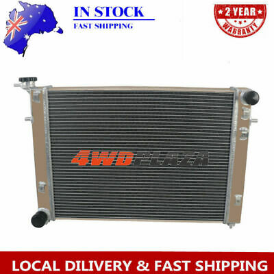 3 ROW CORE ALLOY RADIATOR FOR Holden COMMODORE VN VG VP VR VS V6 3.8L & WARRANTY