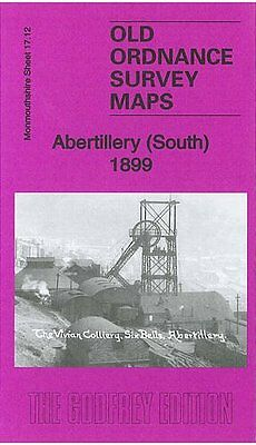 Old Ordnance Survey Map Abertillery South 1899