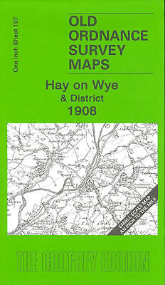 Map Of Hay On  Wye & District 1908
