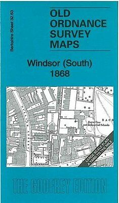 Old Ordnance Survey Map Windsor (South) 1868