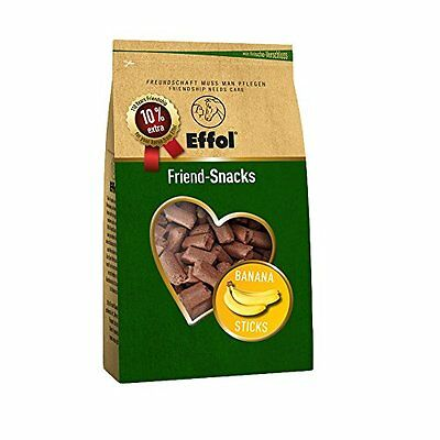 Effol Friend-Snacks - Banana Sticks - 1.1kg bag - Horse Equestrian Horse Feed