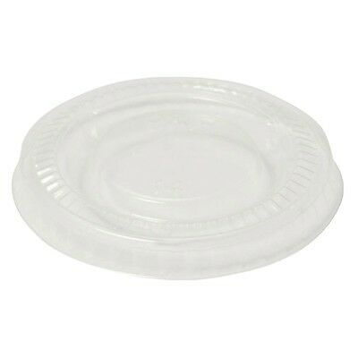 2000X Vegware PLA lid for 2/4oz Pots / Commercial Takeaway Restaurant Cafe