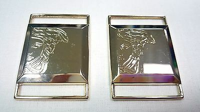 Large buckle «Versace» Gold