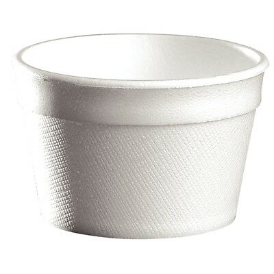 1000X Foam Cups 4oz / Commercial Takeaway Restaurant Cafe
