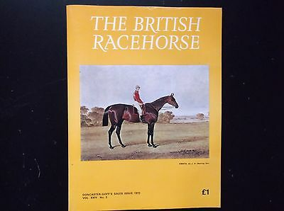 """the British Racehorse"" Magazine Doncaster Sales Issue 1972"