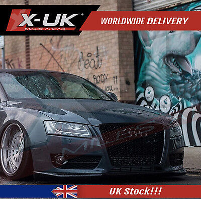 Front Grill Black Edition For Audi A5,s5 To Rs5  2007-2012