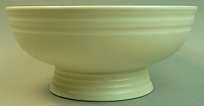 STYLISH WEDGWOOD KEITH MURRAY ART DECO POTTERY BOWL 1930's
