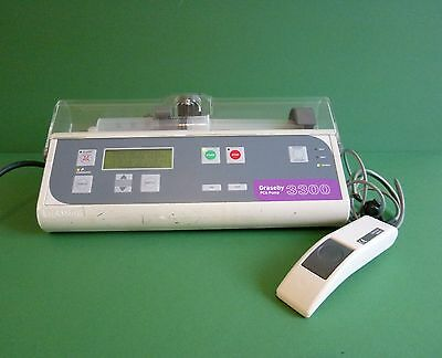 Graseby 3300 Pca Syringe Driver  Infusion Pump Driver Medical Graseby 3300 Pca