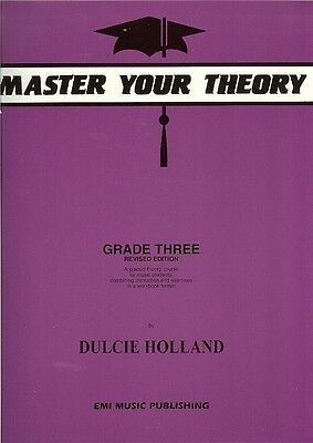 *NEW* MASTER YOUR THEORY Book by Dulcie Holland Grade 3