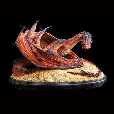 Smaug the Terrible Statue, Red Dragon. Ltd 2000. Hobbit. Weta Collectables. New