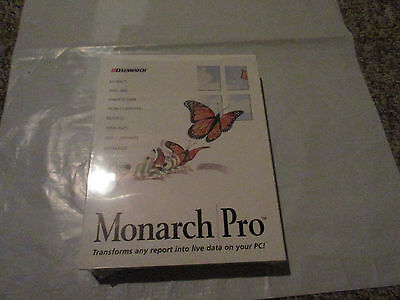 Datawatch Monarch 6 Pro Transforms Any Report Into Live Data On Your Pc!