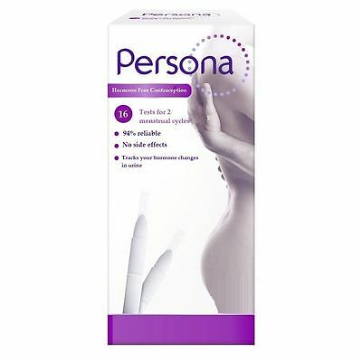 16 Persona Monitor Contraception Ovulation Test Refill Sticks, 2 Complete Cycles