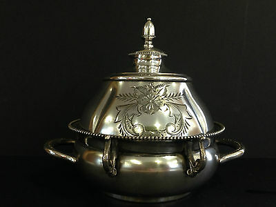 Silver Plated Butter Keeper by Rockford