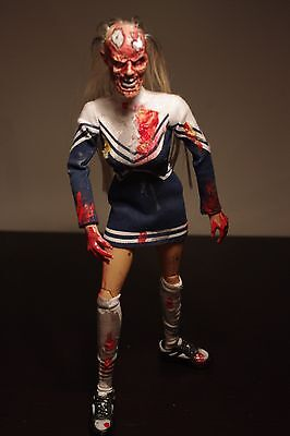 "Peril Unlimited Bloody Betty Zombie Cheerleader 1.6 scale 12"" figure"