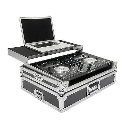 Magma Workstation - Numark NV or Mixtrack Pro 3 - Flight Case w/ Laptop Stand