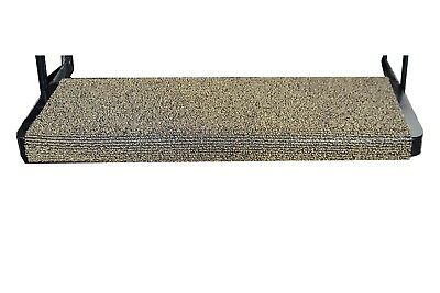 Grubby Feet RV Step Cover ~ 18 x 22 inches ~ Brown/Beige