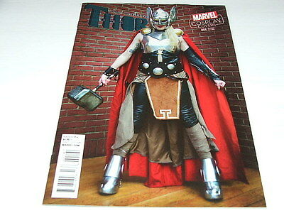 Mighty Thor 1 COSPLAY VARIANT (Marvel Comics) Jan 2016