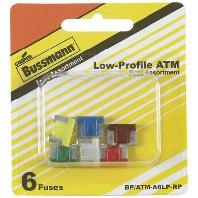 Bussmann (BP/ATM-A6LP-RP) ATM-LP Low Profile Fuse Assortment Kit