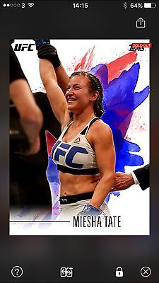 Topps UFC KNOCKOUT Digital - Miesha Tate Colour Insert (536cc)