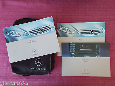 Mercedes-Benz A-Class (W169) Owners Manual - Owners Guide - Handbook (Acq 4867)