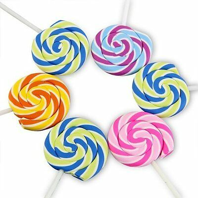 Swirls Lollipop Candy Erasers Food Rubbers Gift Bag Fillers Christmas Stocking