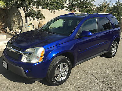 2006 Chevrolet Equinox LT Sport Utility 4-Door AWD 4X4 4WD CHEVY EQUINOX SOUTHERN CALIFORNIA DING DENT + CORROSION FREE BEAUTY!
