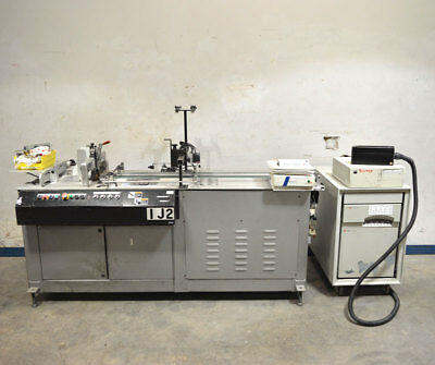 "Kirk-Rudy 215-36 Ink Jet Base Dual Motor w/36"" Ext. Labeler Scitex 5120 Printer"