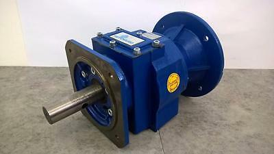 Motovario H 032F Cast Iron In Line Reduction Gearbox 8.87:1 For Motor Frame 90