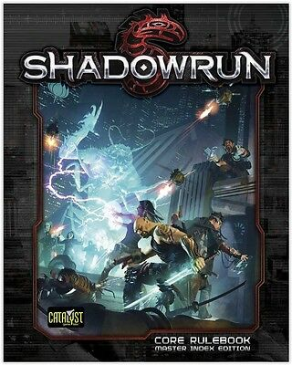 SHAROWRUN 5th edition Core Rulebook Master Index catalyst