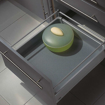 Non-Slip Drawer Liner, Grey Colour, 1000 x 480mm (Easy To Cut To Size)