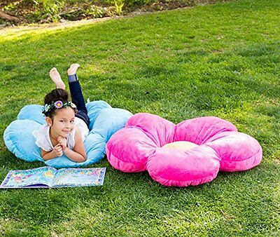 Girls floor pillow bed as reading nook cushion decorative and soft gifts to #29S