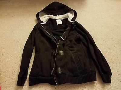 Maternity jacket black size S Old Navy