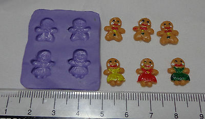 1:12 Scale Gingerbread  Mold - Mould Dolls House Miniature Food