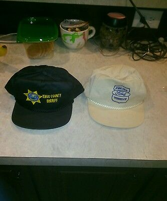 Vintage Knox County TN. Sheriff Department Ball Cap and Police Ford Vehicle.