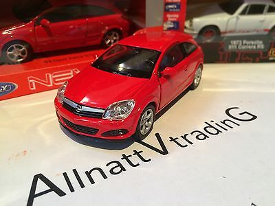 Opel Astra GTC WELLY Diecast metal sport Vauxhall car toy model 1:38 scale
