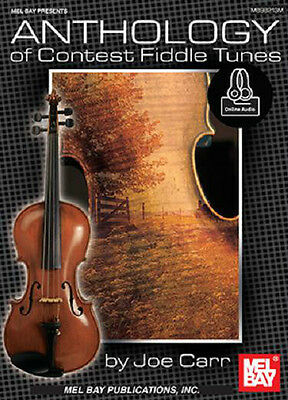 Anthology Of Contest Fiddle Tunes Song Book  New