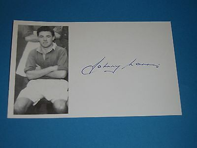 Johnny Morris:Manchester United,Derby County,Leicester City,ENGLAND signed