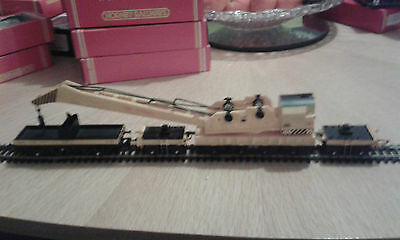 Hornby R749 BR Yellow 75 Ton Operating Breakdown Crane Set Unboxed